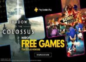 PlayStation Plus в марте подарит Shadow of the Colossus и Sonic Forces для PlayStation 4